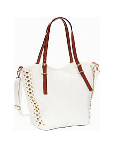 Brisa Stud Convertible Tote by SW Global