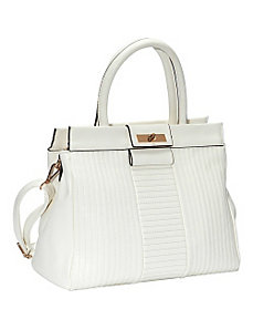 Freda Top Handle Convertible Satchel by SW Global