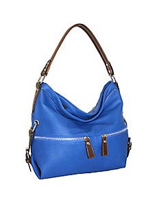 Top Zip Hobo by Punto Uno
