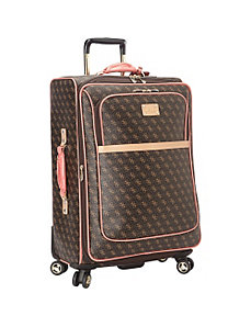 Logo Affair 8-Wheel 25 Inch Spinner Upright by GUESS Travel