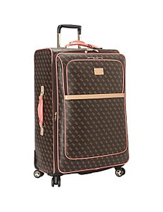 Logo Affair 8-Wheel 29 Inch Spinner Upright by GUESS Travel