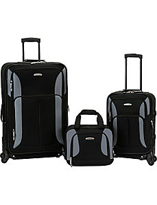 Pasadena 3 pc  Spinner Set by Rockland Luggage