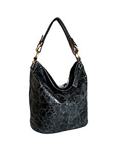 Top Zip Bucket Bag by Nino Bossi