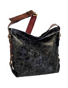 Cross Body Hobo with Adjustable Strap by Nino Bossi