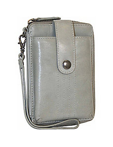 Cell Phone Holder with Interior Wallet by Nino Bossi
