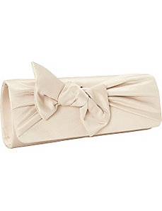 Satin Bow Clutch by J. Furmani