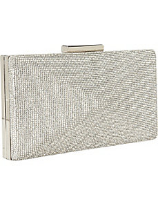 Crystal Hardcase Clutch by J. Furmani