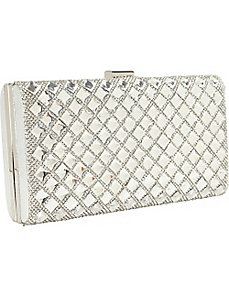 Elegant Stone Hardcase Clutch by J. Furmani