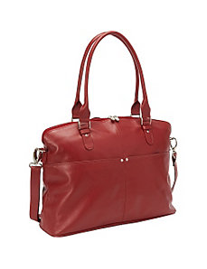 Slim Executive Laptop Tote by Piel