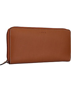 Audrey Iris Zip Wallet - Core Colors by Lodis