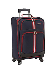 Collegiate 20-Inch 4 Wheel Spinner Carry-On by Izod Luggage