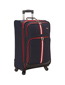Collegiate 24-Inch 4 Wheel Spinner Upright by Izod Luggage