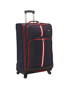 Collegiate 28-Inch 4 Wheel Expandable Spinner Upri by Izod Luggage