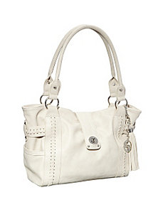 Buckle Shoulder Bag by La Diva