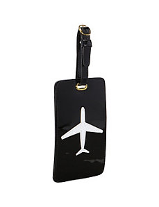 Airplane Luggage Tag by pb travel