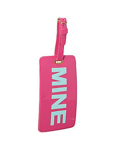 'Mine' Luggage Tag by pb travel