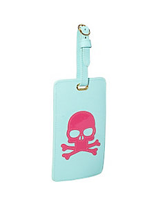 Skull Luggage Tag by pb travel