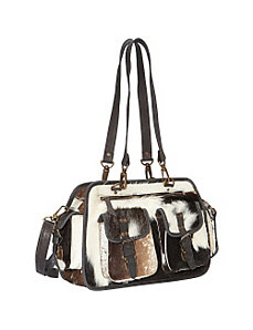 Leather Pony Handbag by Sharo Leather Bags