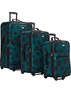 Tokyo Collection 3 Piece Luggage Set by American Flyer