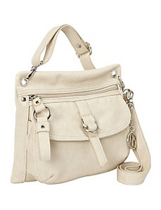 Cross-Body Bag with Front Pocket by La Diva