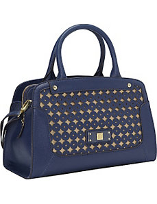 Classic Perfection Satchel by Anne Klein
