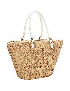 Water Hyacinth Shopper by Straw Studios