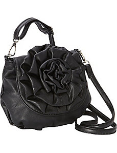 Piccola Rosa Crossbody Bag by Donna Bella Designs