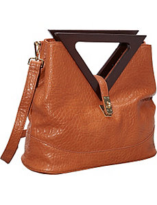 Triangle Handle Satchel by Ann Creek