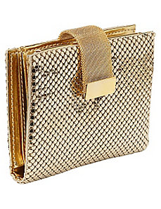 Wallet with Mesh Tab by Whiting and Davis
