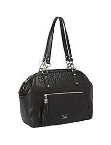 Quilted Chain Large Satchel Handbag by Nine West Handbags