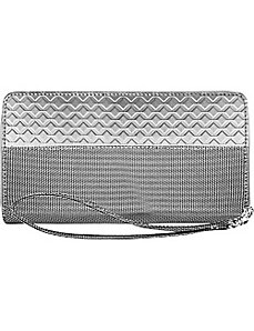 RFID Blocking Zipper Wristlet Travel Wallet by Stewart Stand