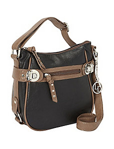 Two-tone Crossbody by La Diva