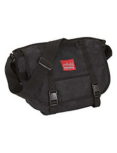 Waxed Canvas Messenger Bag - Medium by Manhattan Portage
