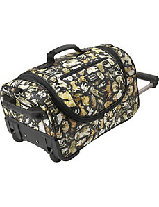 Cats and Dogs Wheeled Duffel by Sydney Love