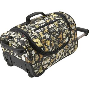 Cats and Dogs Wheeled Duffel