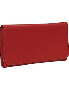Cashmere Checkbook Clutch by Osgoode Marley