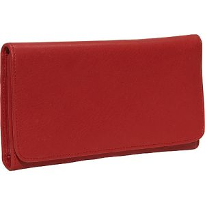Cashmere Checkbook Clutch