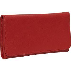 Cashmere Checkbook Clutch