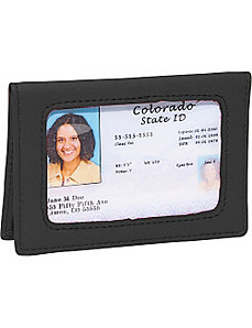 Tri-View Id Holder by Royce Leather