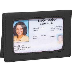 Tri-View Id Holder