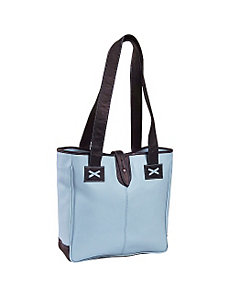 Colored Vachetta Oversized Tote by Clava