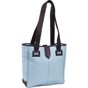 Colored Vachetta Oversized Tote