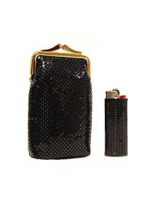 Classic Cigarette Case And Lighter Case by Whiting and Davis
