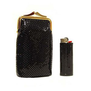 Classic Cigarette Case And Lighter Case