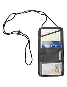 Leather Identification and Boarding Pass Holder by Travelon