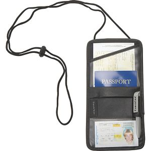 Leather Identification and Boarding Pass Holder