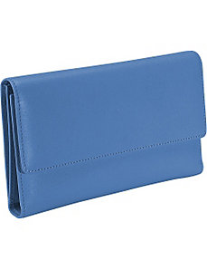 Women's Checkbook Clutch by Royce Leather