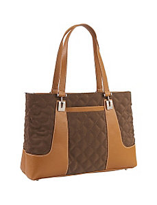 Quilted Collection Top Zip Tote by Sydney Love