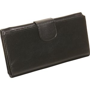 Ladies Three Part Clutch Wallet