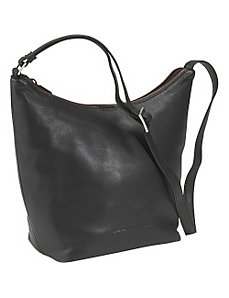 Top Zip Bucket Bag by Derek Alexander Leather